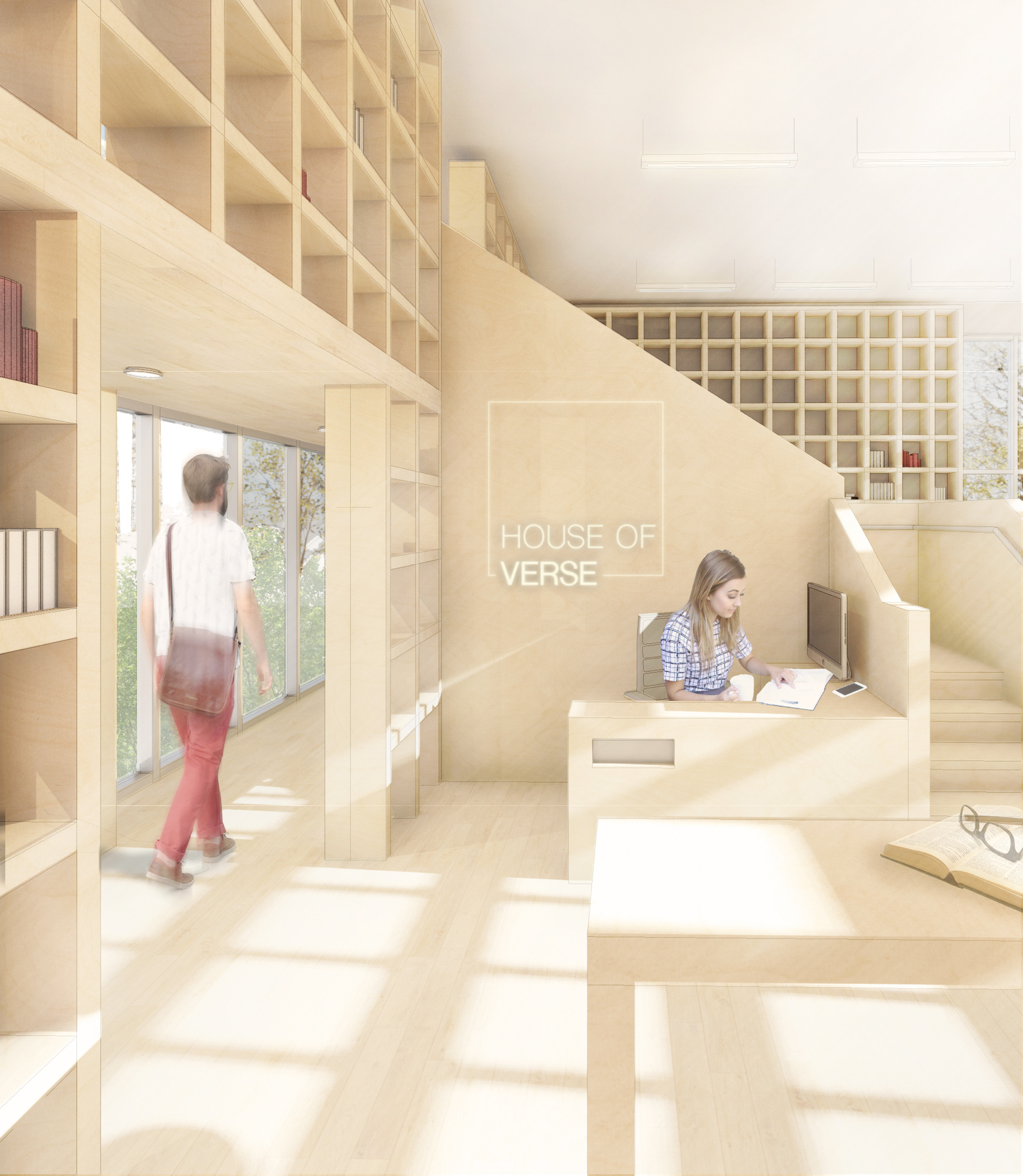 Interior Design Students Tie For First Place In Idec Student Design Competition School Of Architecture Design Virginia Tech